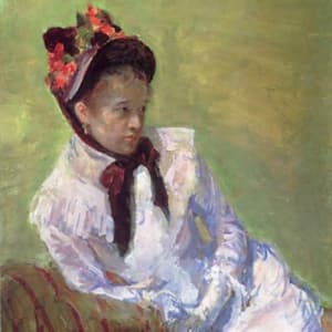 Mary Cassatt one of the few early 20th century women artists remembered today
