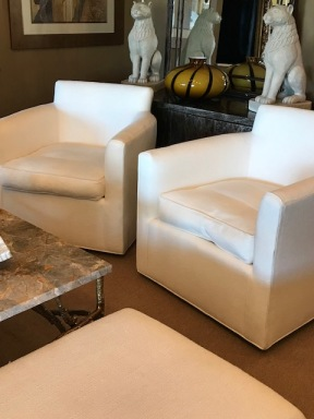 Matching Pair Kravet Chairs $1400